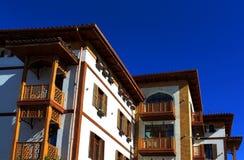 Стена зданий дома жилища Стоковые Изображения