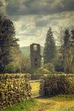 стена здания каменная Стоковое Изображение