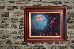 стена земли Стоковые Изображения