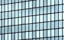Стена зеркала здания стеклянная Стоковое фото RF