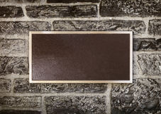 стена знака металла рамки Стоковое Изображение RF