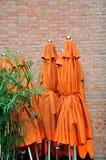 стена зонтика кирпича закрытая Стоковые Изображения