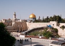 стена Иерусалима западная Стоковые Фото