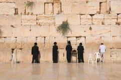 Стена Иерусалима голося Стоковые Изображения RF