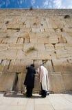 стена Иерусалима голося Стоковое Изображение RF