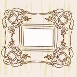 стена изображения рамки Стоковое Изображение