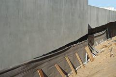 Стена изолировала Стоковое фото RF
