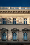 Стена исторического здания в Львове Стоковые Изображения RF