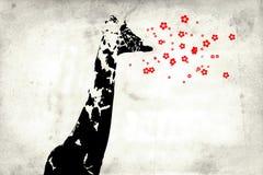 Стена идеи дизайна искусства потехи настенной росписи Стоковое фото RF
