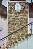 Стена и лестница украшения Стоковые Фото