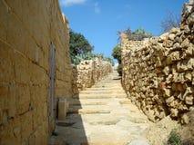 Стена и лестница цитадели Стоковое Изображение RF