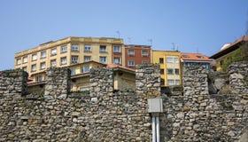 Стена и здания 14 Стоковые Фото