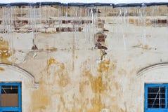 Стена и окно Стоковое Изображение