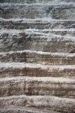 Стена и дорога в современном диаманте минируют Стоковые Изображения
