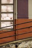 Стена и перила Стоковое Изображение RF