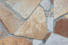 Стена каменной текстуры, винтажная стена Стоковые Изображения RF