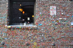 Стена камеди - Сиэтл, Вашингтон стоковое изображение