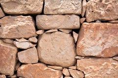 Стена камней в Мальте Стоковое Изображение RF