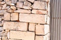 Стена камней в Мальте Стоковые Фотографии RF