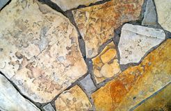Стена камней Стоковое фото RF