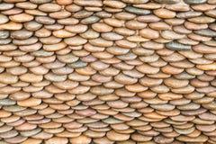 стена камушка круга Стоковое Фото