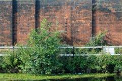 Стена 04 канала Стоковое Изображение