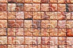 Стена керамической плитки Стоковая Фотография