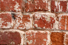 стена кирпича близкая старая поднимающая вверх Стоковое фото RF