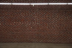 стена кирпича большая Стоковая Фотография RF