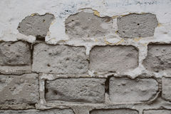 стена кирпича затрапезная Стоковая Фотография RF
