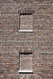 стена кирпича коричневая Стоковое Фото
