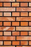 стена кирпича новая Стоковое Фото