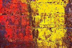 стена кирпича покрашенная grunge Стоковое фото RF