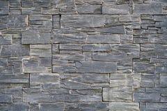 стена кирпича предпосылки серая текстурированная Стоковое Изображение RF