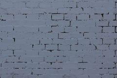 стена кирпича предпосылки серая текстурированная Стоковые Фотографии RF