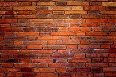 стена кирпича предпосылки старая красная Стоковые Изображения RF