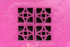 стена кирпича розовая Стоковые Фото