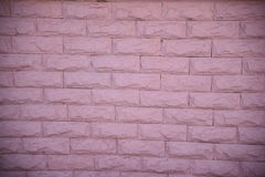 стена кирпича розовая Стоковая Фотография
