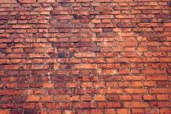 стена кирпича старая красная Текстура Grunge Стоковые Фото