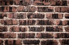 стена кирпича старая красная Стоковые Фото