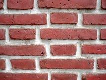 стена кирпича старая красная Стоковые Изображения