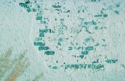 стена кирпича старая Огорченная постаретая текстура верхнего слоя Стоковое фото RF