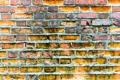 стена кирпича старая Предпосылка Grunge Стоковая Фотография