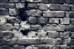 стена кирпича старая Предпосылка Grunge backhander стоковые изображения rf