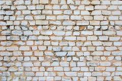 стена кирпича старая Предпосылка кирпичной кладки Стоковое Изображение
