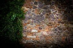 стена кирпича старая предпосылка ретро closeup Стоковые Изображения RF