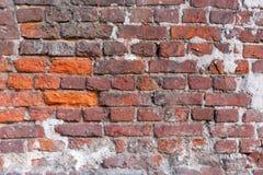 стена кирпича старая Справочная информация Стоковая Фотография