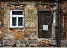 стена кирпича старая Стоковая Фотография
