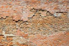 стена кирпича старая Стоковое Изображение RF