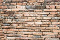 Стена кирпичей Справочная информация Стоковое Изображение